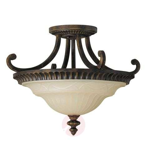 Special semi-flush ceiling lamp Drawing Room
