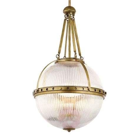Spherical hanging light Aster, brass-3048912-31