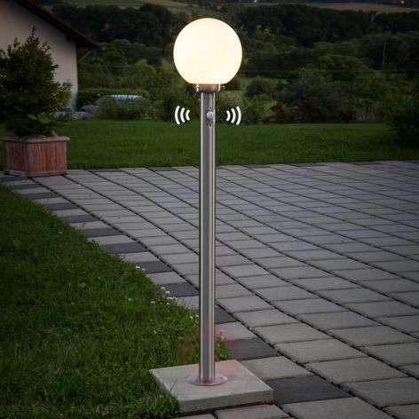 Spherical path lamp Vedran with motion detector