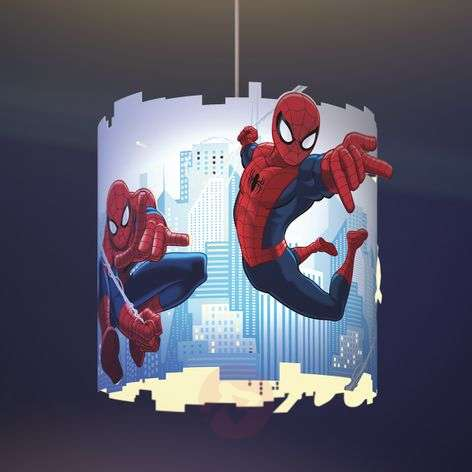 Spiderman hanging light for children