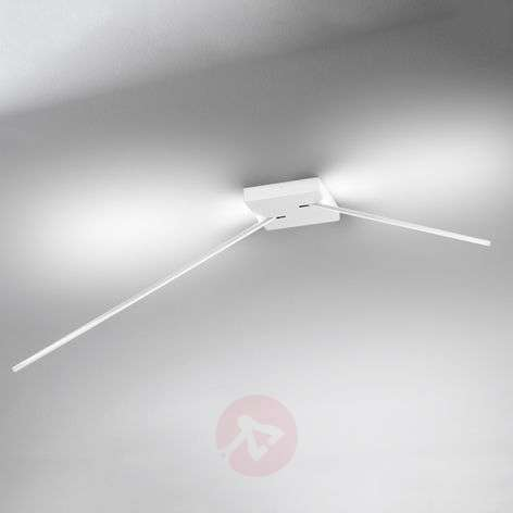 Spillo ceiling light with LEDs, 2-arm