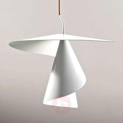 Spiral-shaped designer pendant light Spiry