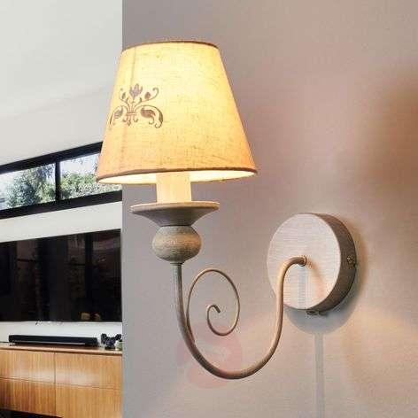 Spirited Robin fabric wall light-6055077-31