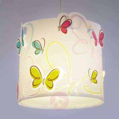 Springy pendant light Butterfly