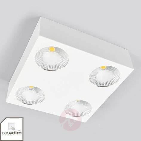 Square, dimmable LED ceiling light Sonja