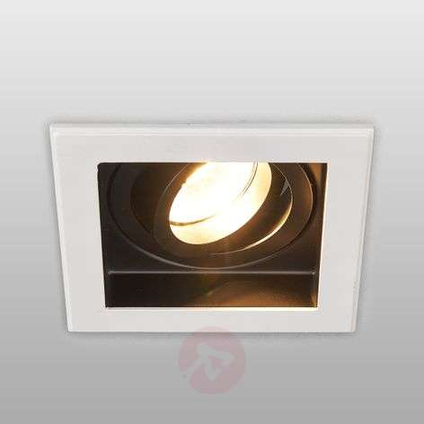 Square high voltage recessed light Don, GU10