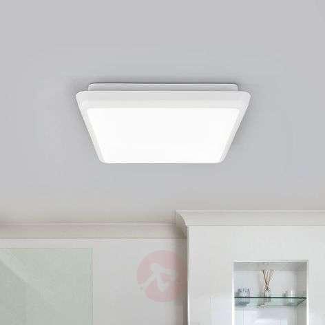 Square LED ceiling lamp Augustin, 25cm