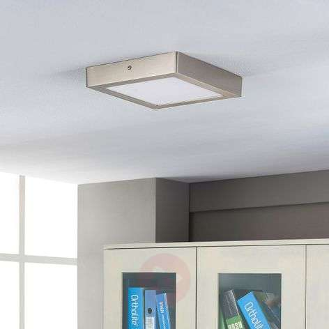 Square LED ceiling lamp Elice
