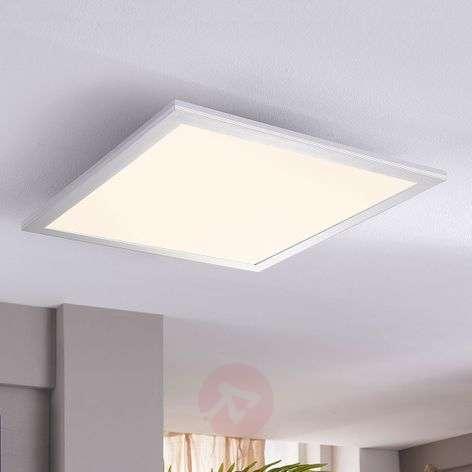Square LED ceiling light Livel, 28 W