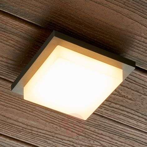 Square LED outdoor wall lamp Joschi