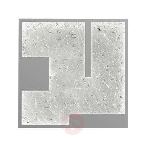 Square LED wall light Tableau