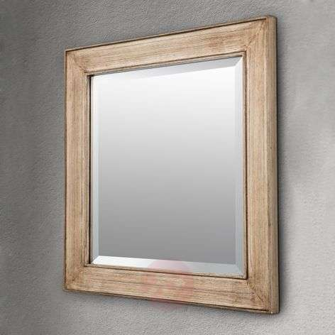 Square mirror Sverre, antique gold