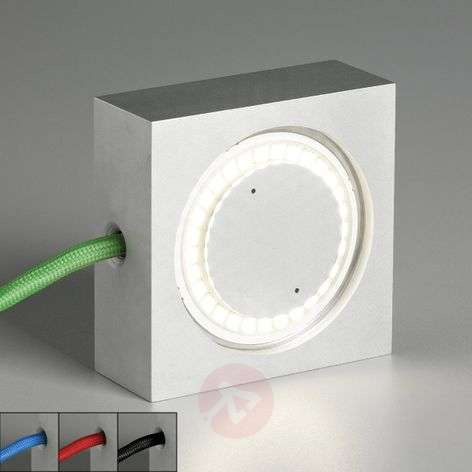 Square multipurpose lamp with LED
