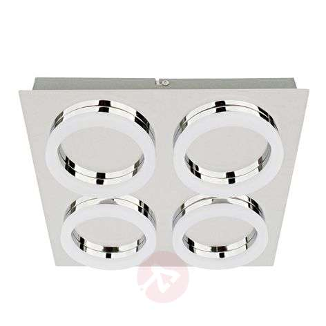 Square-shaped LED ceiling lamp Ring