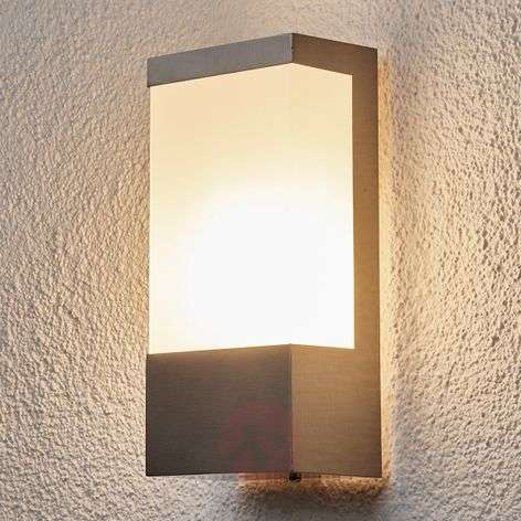 Square stainless steel outdoor wall light Kirana-9972006-31
