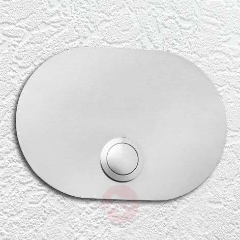 Stainless Doorbell Coverplate, Oval