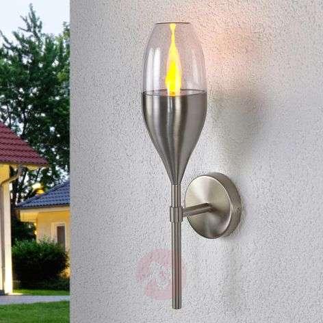 Stainless steel LED solar wall lamp Jari