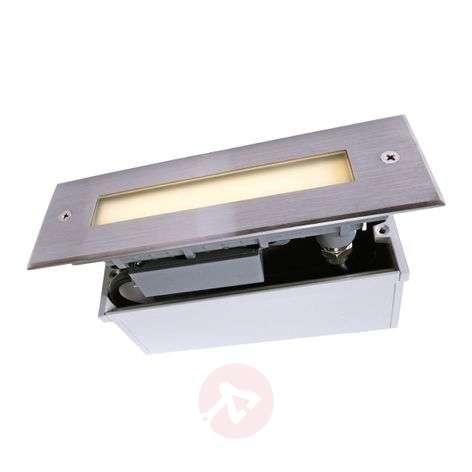 Stainless steel LINE LED recessed floor light