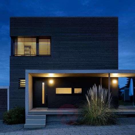 Stainless steel outdoor wall light L224, IR sensor