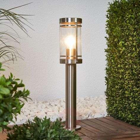 Stainless steel pillar light Djori
