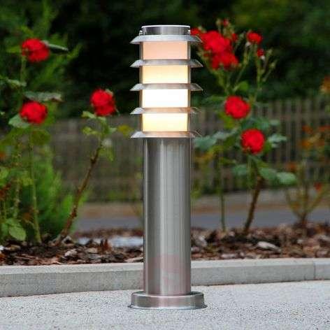 Stainless steel pillar light Selina