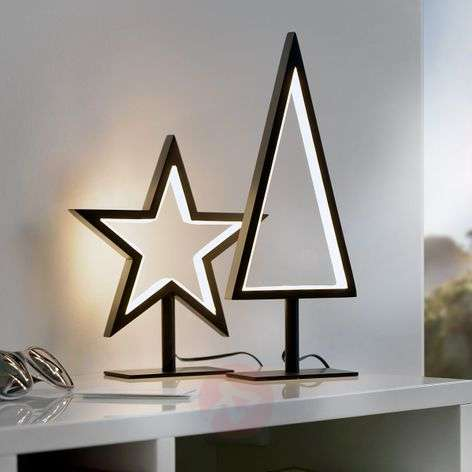 Standing decorative star Lucy-S