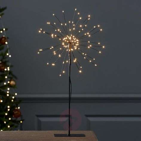 Standing LED star Firework in 3D