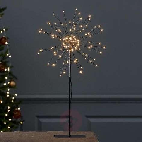 Standing LED star Firework in 3D