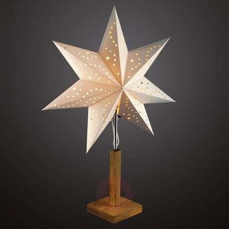 Standing paper star Hilla