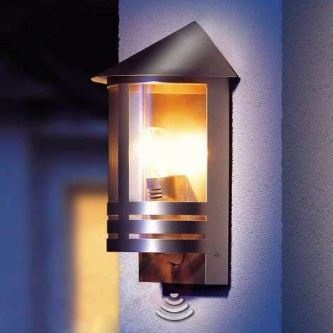 Steinel L 170 outdoor wall light, sensor, steel