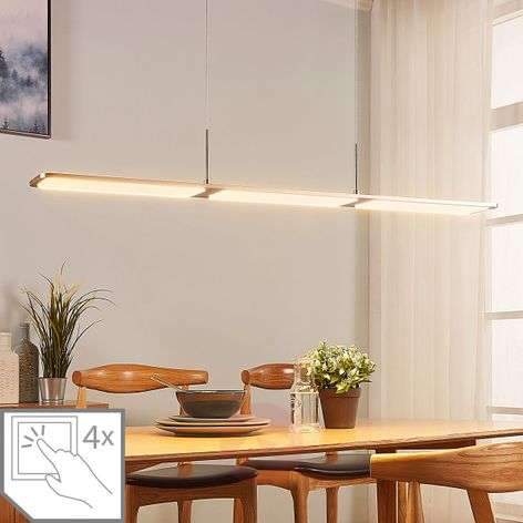 Stephanie LED ceiling lamp, dimmable, 98 cm