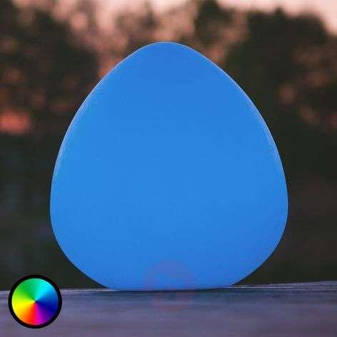 Stone L LED decorative light, controllable via app-8590010-31