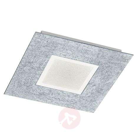 Striking LED ceiling light Chiros Angular Silver