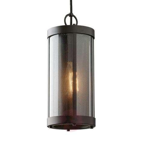 Striking pendant lamp Bluffton, cable suspension