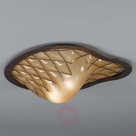 Striking Sant Erasmo ceiling lamp – handmade