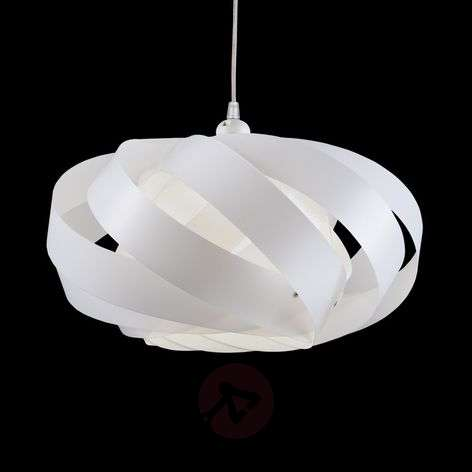 Striped hanging light Mini Nest, white-1056034-31