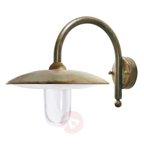 Stylish antique Casale outdoor wall light
