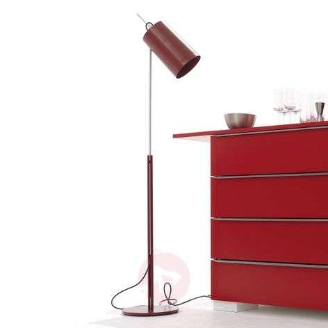 Stylish designer LED floor lamp Tuba