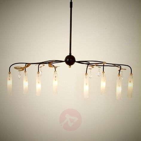 Stylish LED hanging light Casino with crystals