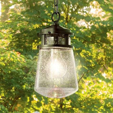 Stylish Lyndon pendant light for outdoors