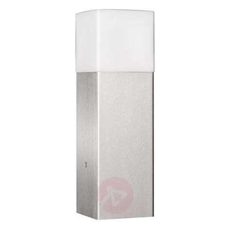 Stylish pillar light Linus, stainless steel