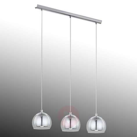 Stylish Rocamar hanging lamp - 3-bulb