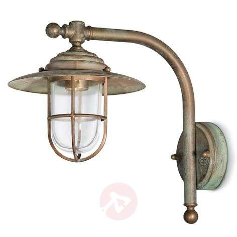 Stylish wall light Bruno in an antique design