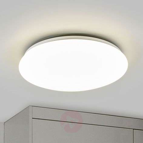 Suede LED Ceiling Light White-7531490-31