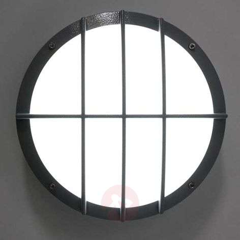 SUN 8 LED die-cast aluminium wall light