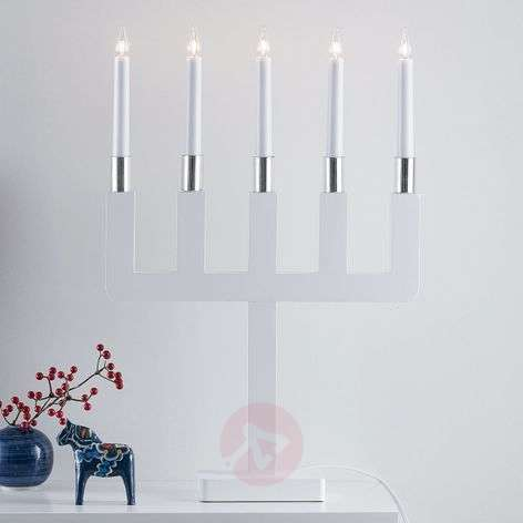 Sundstorp timelessly attractive candleholder white-6507494-31