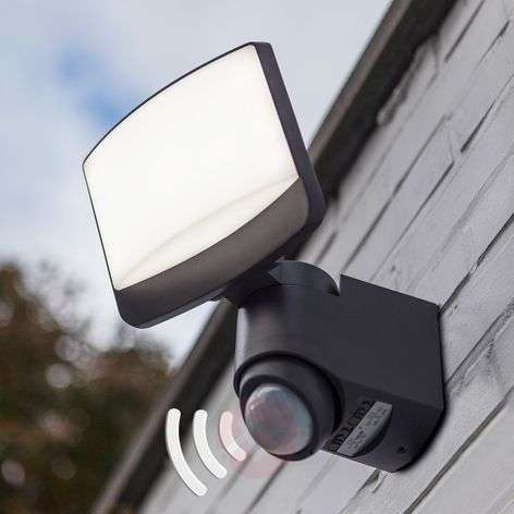 Sunshine LED outdoor spotlight, motion detector