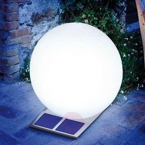 Super Trendy solar light ball white