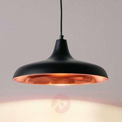 Surrey hanging light in black/copper
