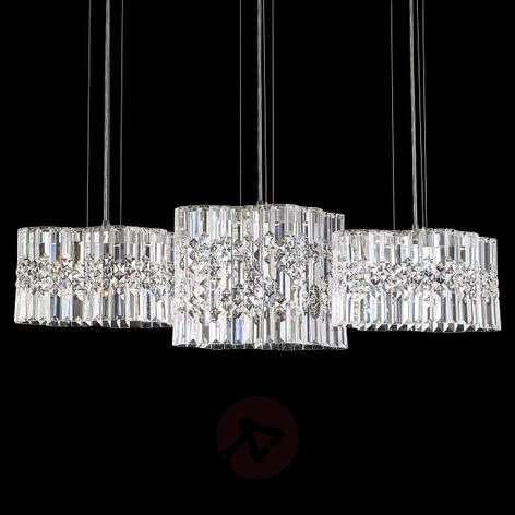 Swarovski Selene crystal LED hanging light, 100cm